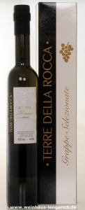 Grappa di Prosecco invecchiata, Terre della Rocca