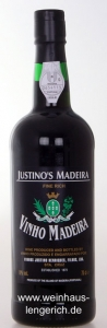 Justinos Madeira Fine Rich 19%vol., Vinhos Justinus Henriques, Santa Cruz