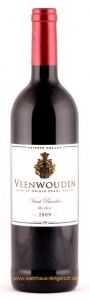 Merlot Vivat Bacchus 2009, Wine of Origin Paarl Region, Veenwouden Private Cellar