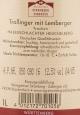 Trollinger mit Lemberger trocken 2016, Haberschlachter Heuchelberg, Weingärtner Stromberg Zabergäu